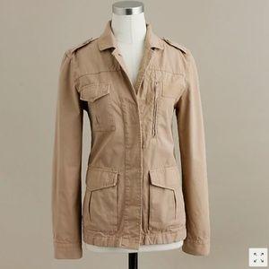 J. Crew chino jacket size 8 - perfect!!!